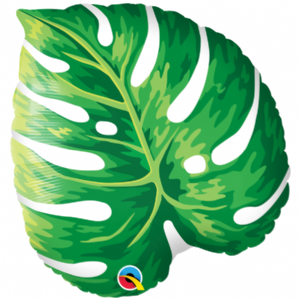 Tropical Philodendron Foil Balloon | Wholesale Prices